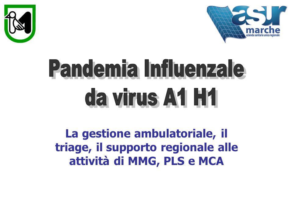 Pandemia Influenzale da virus A1 H1