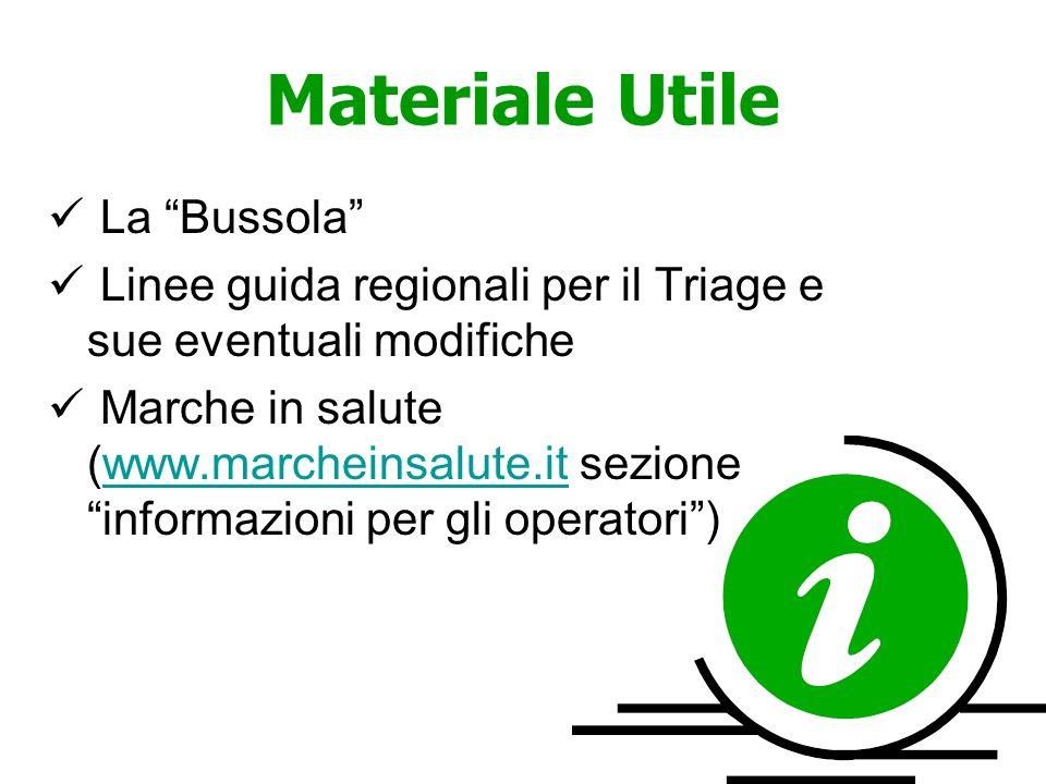 Materiale Utile La Bussola