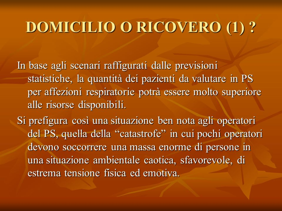 DOMICILIO O RICOVERO (1)