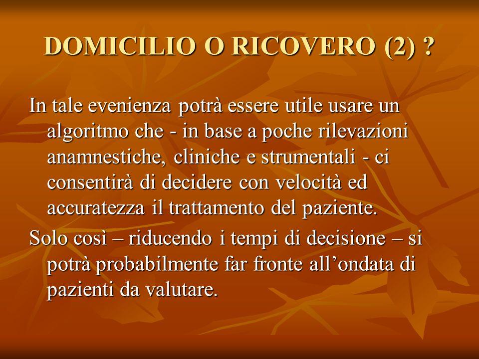 DOMICILIO O RICOVERO (2)