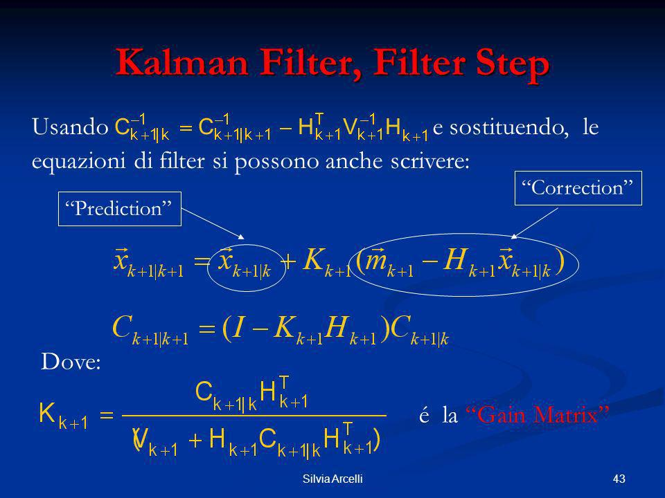 Kalman Filter, Filter Step