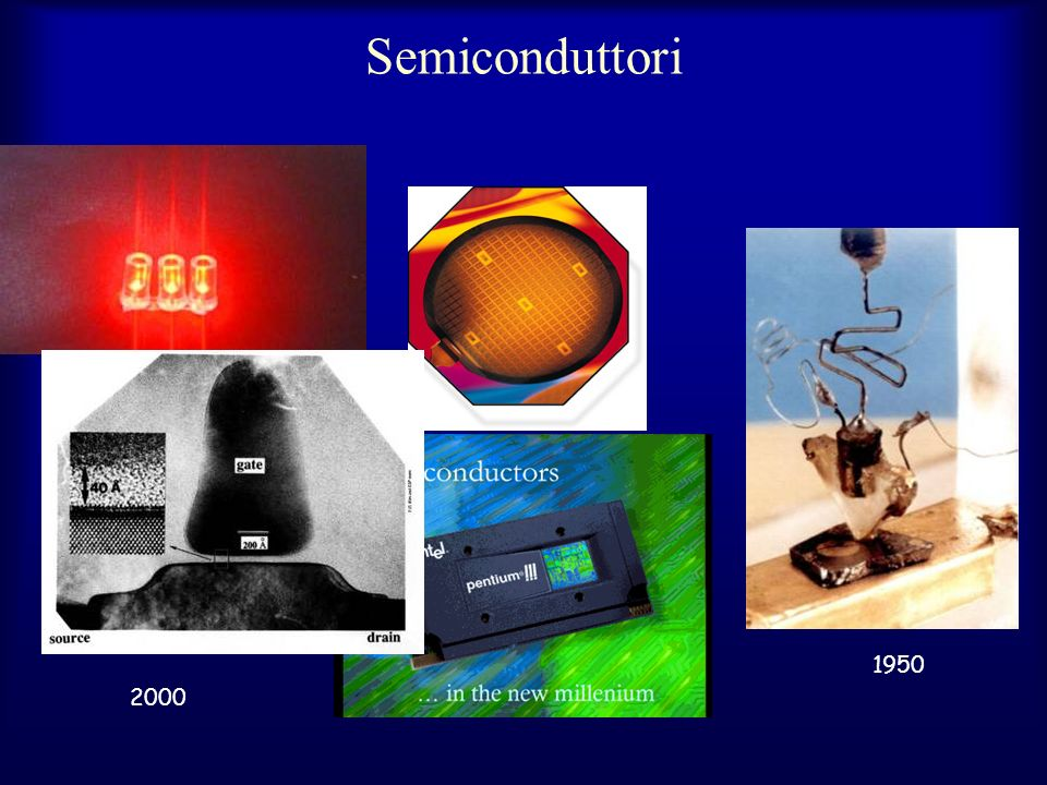 Semiconduttori 1950 2000