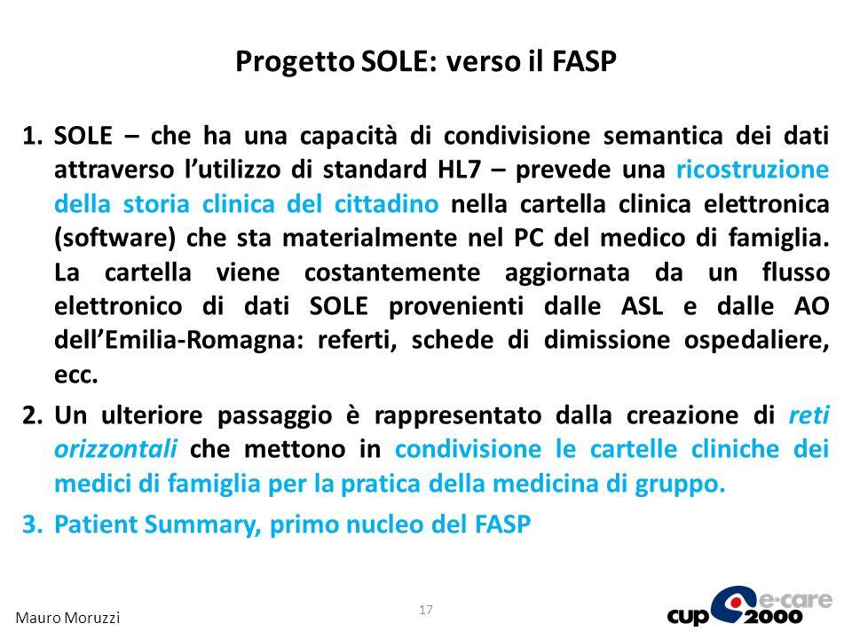 Progetto SOLE: verso il FASP