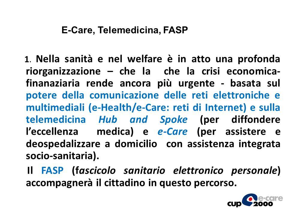 E-Care, Telemedicina, FASP
