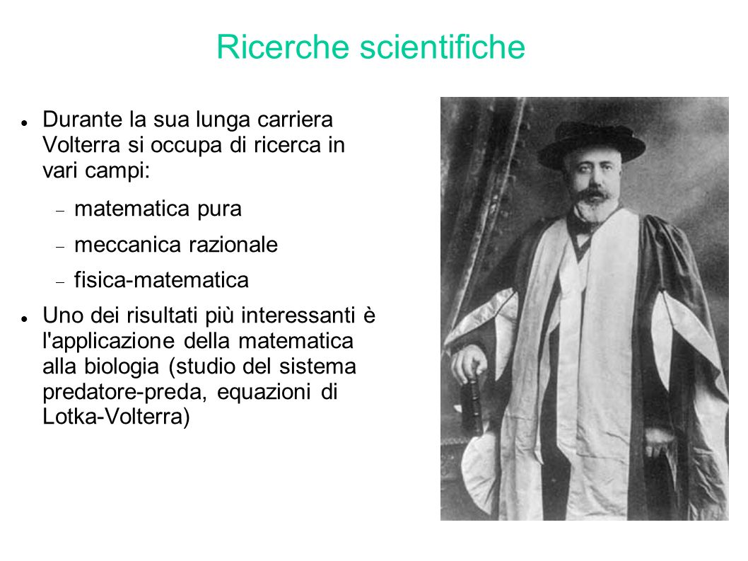 Ricerche scientifiche