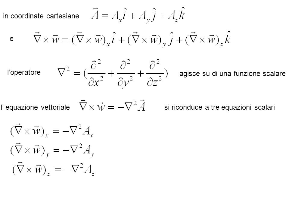 in coordinate cartesiane