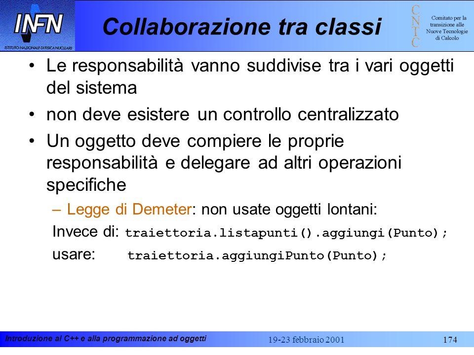 Collaborazione tra classi