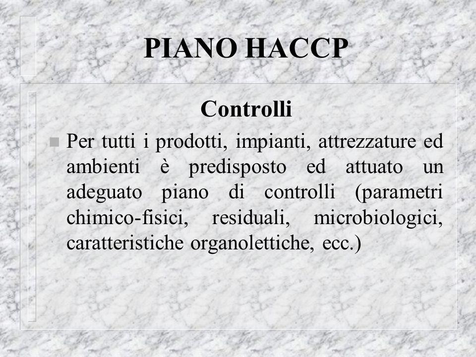 PIANO HACCPControlli.