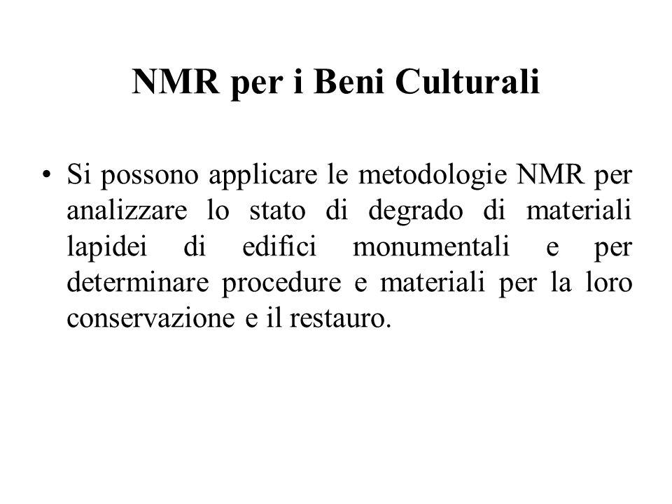 NMR per i Beni Culturali