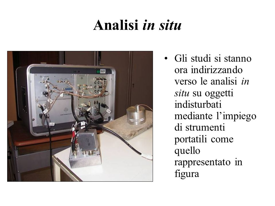 Analisi in situ