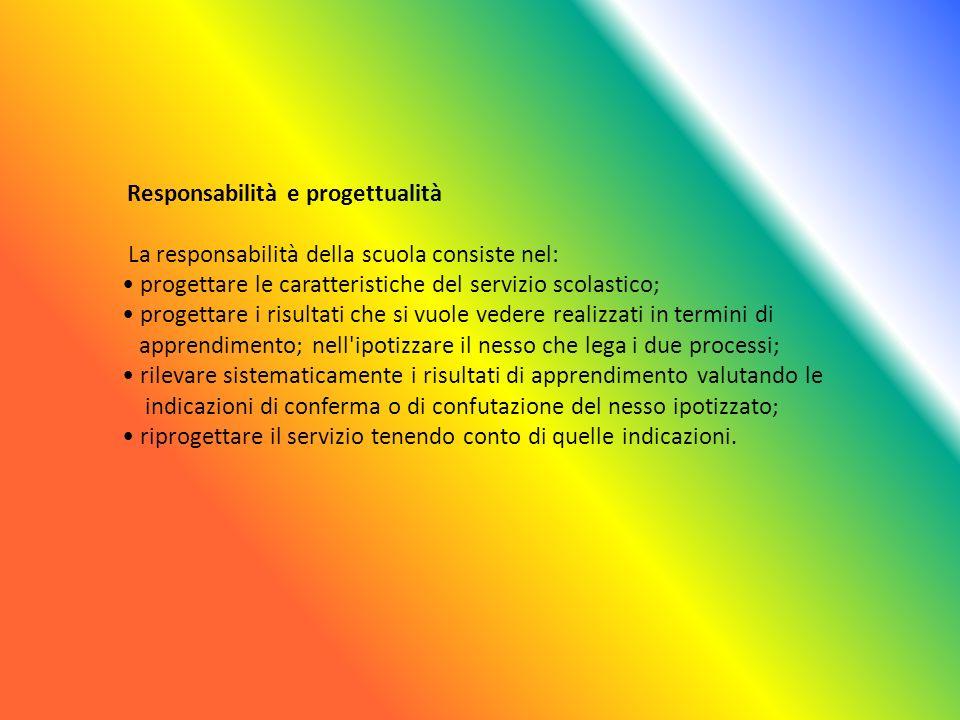 La responsabilità della scuola consiste nel: