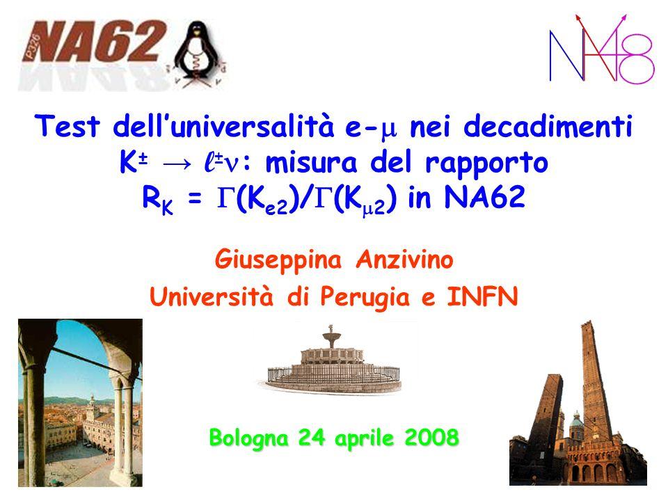 Università di Perugia e INFN
