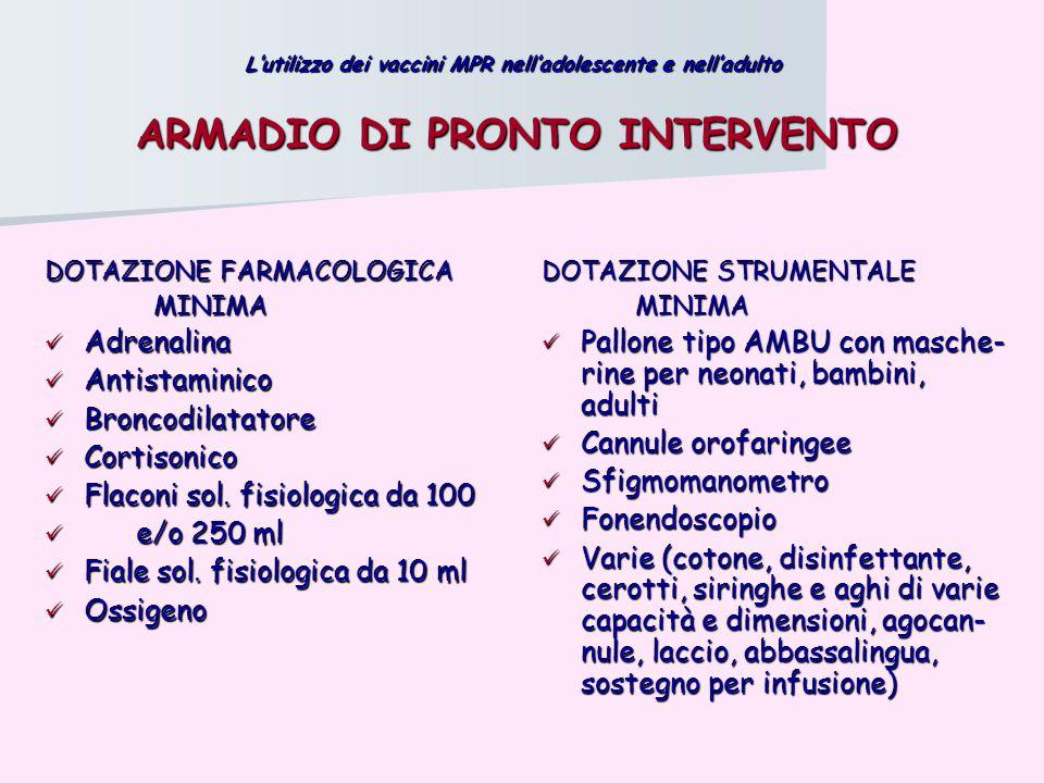 ARMADIO DI PRONTO INTERVENTO