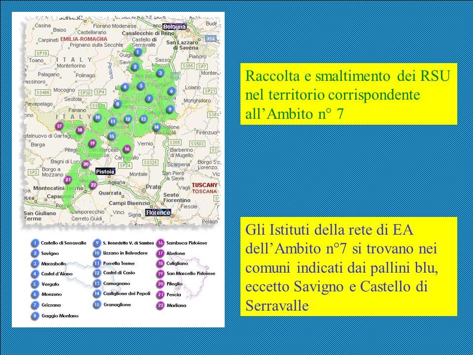 Raccolta e smaltimento dei RSU nel territorio corrispondente all'Ambito n° 7