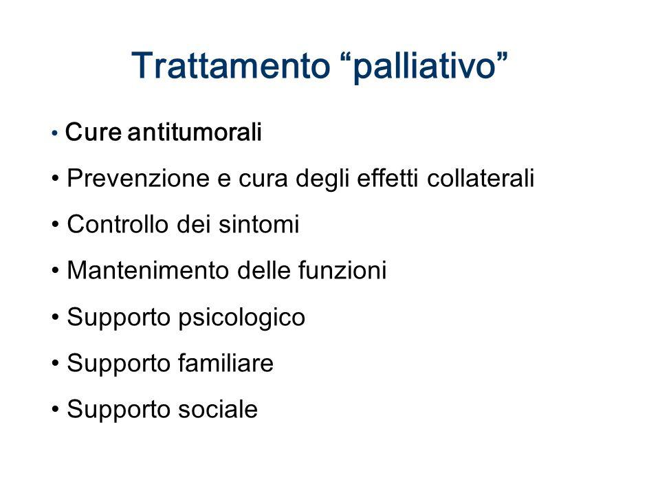 Trattamento palliativo