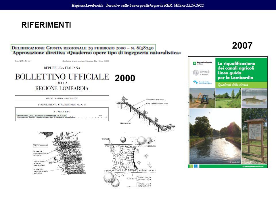 Regione Lombardia - Incontro sulle buone pratiche per la RER. Milano 12.10.2011
