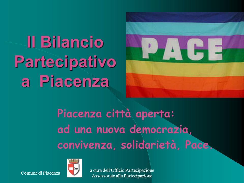 Il Bilancio Partecipativo a Piacenza