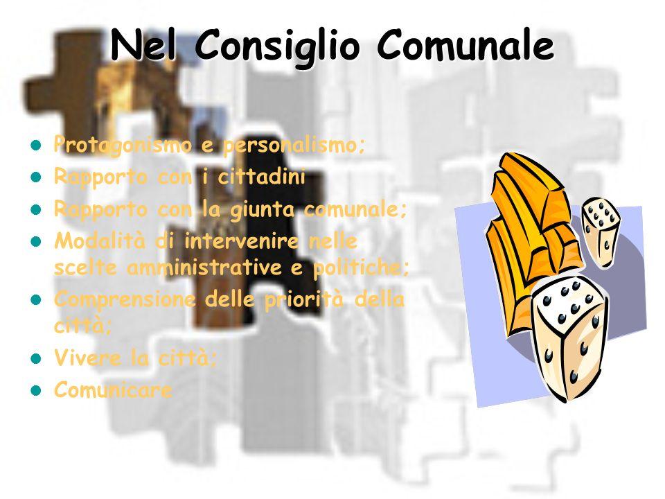 Nel Consiglio Comunale