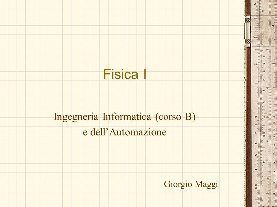 Ingegneria Informatica (corso B) e dell'Automazione