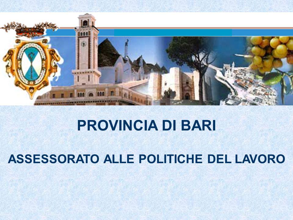 ASSESSORATO ALLE POLITICHE DEL LAVORO