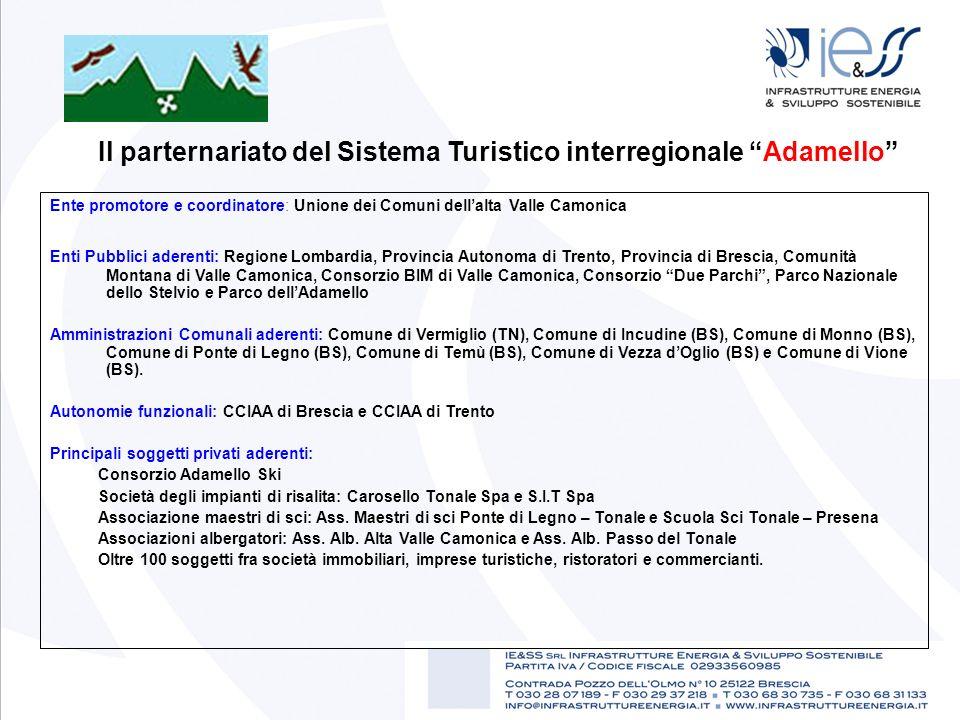 Il parternariato del Sistema Turistico interregionale Adamello