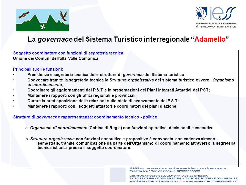 La governace del Sistema Turistico interregionale Adamello
