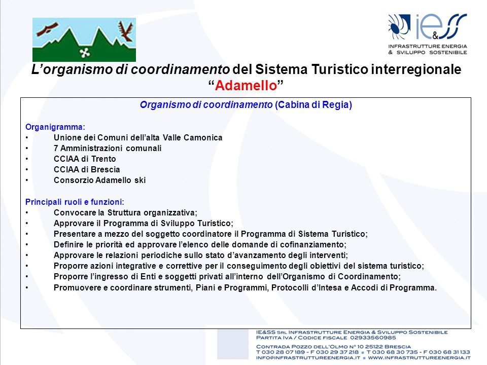 Sistema turistico interregionale adamello 2009 ppt for Piani di cabina di log