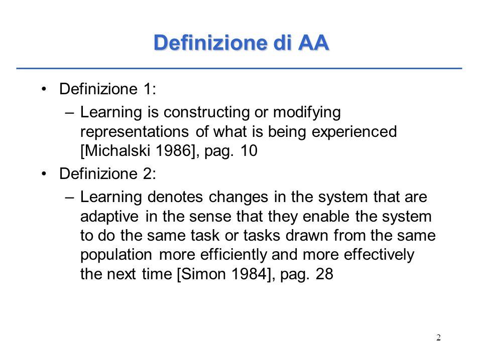 Definizione di AA Definizione 1: