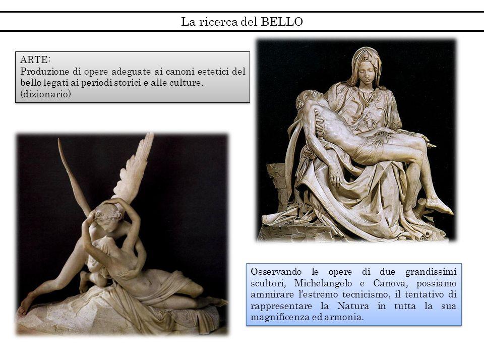La ricerca del BELLO ARTE:
