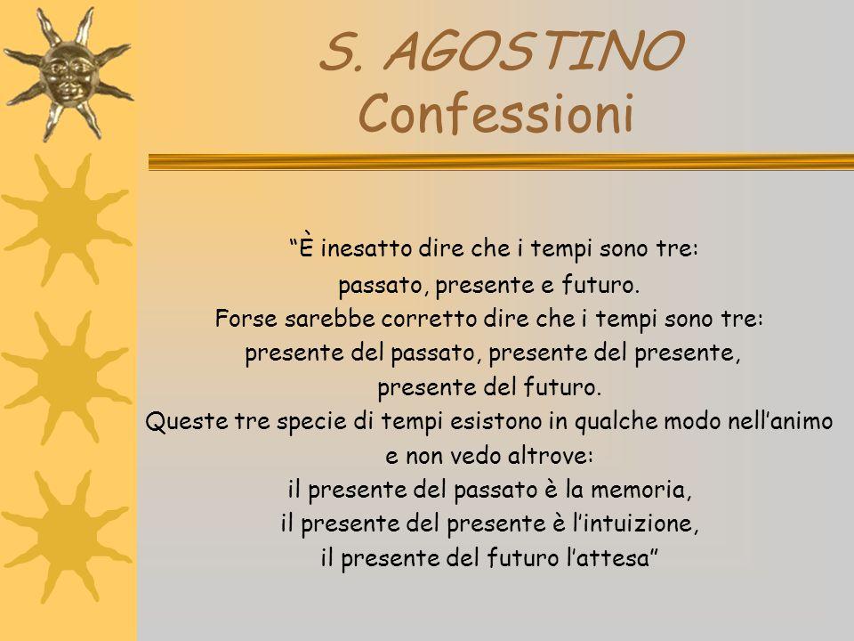 S. AGOSTINO Confessioni
