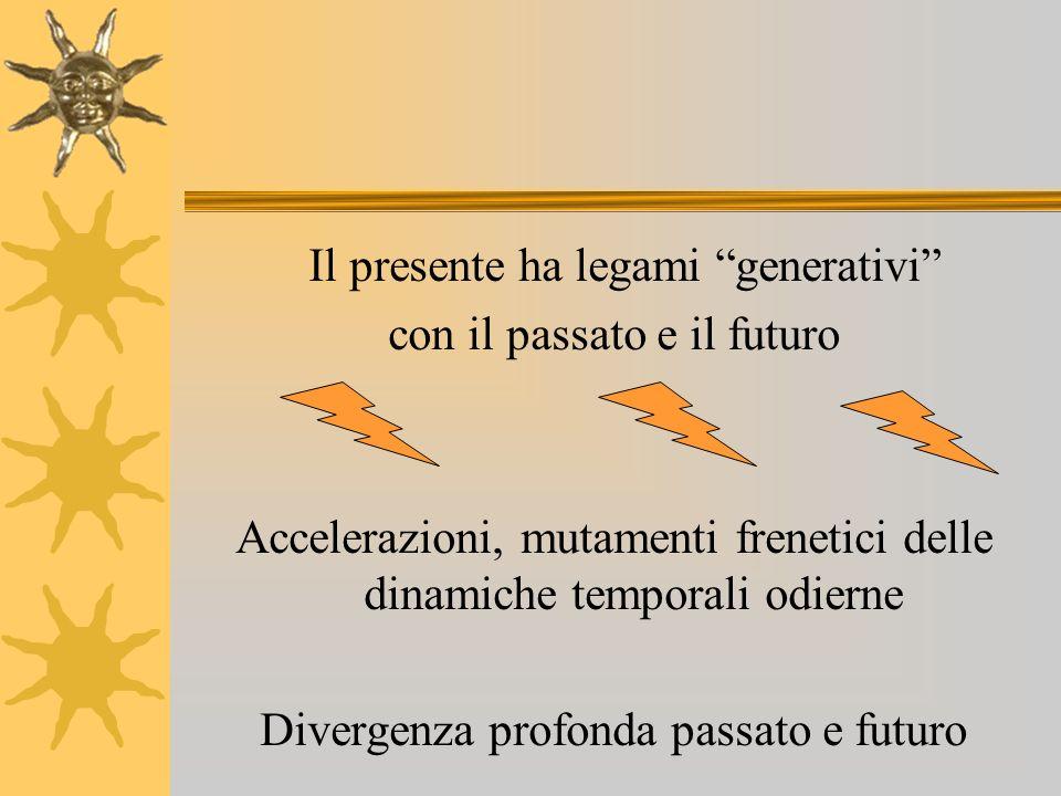 Il presente ha legami generativi con il passato e il futuro