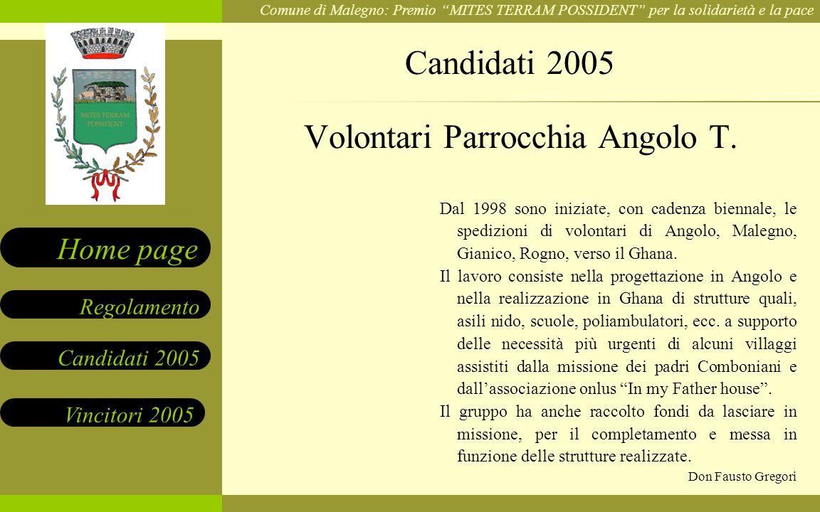 Volontari Parrocchia Angolo T.