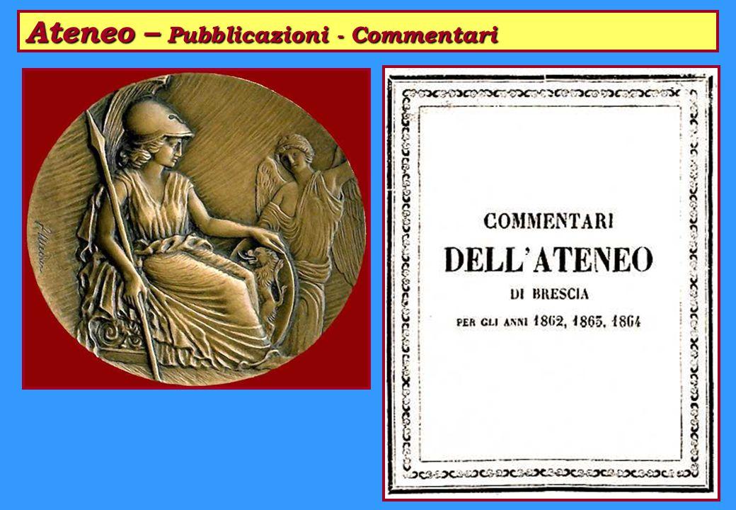 Ateneo – Pubblicazioni - Commentari