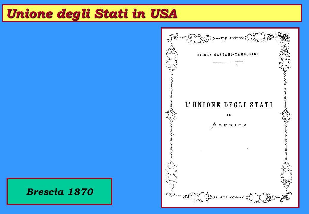 Unione degli Stati in USA