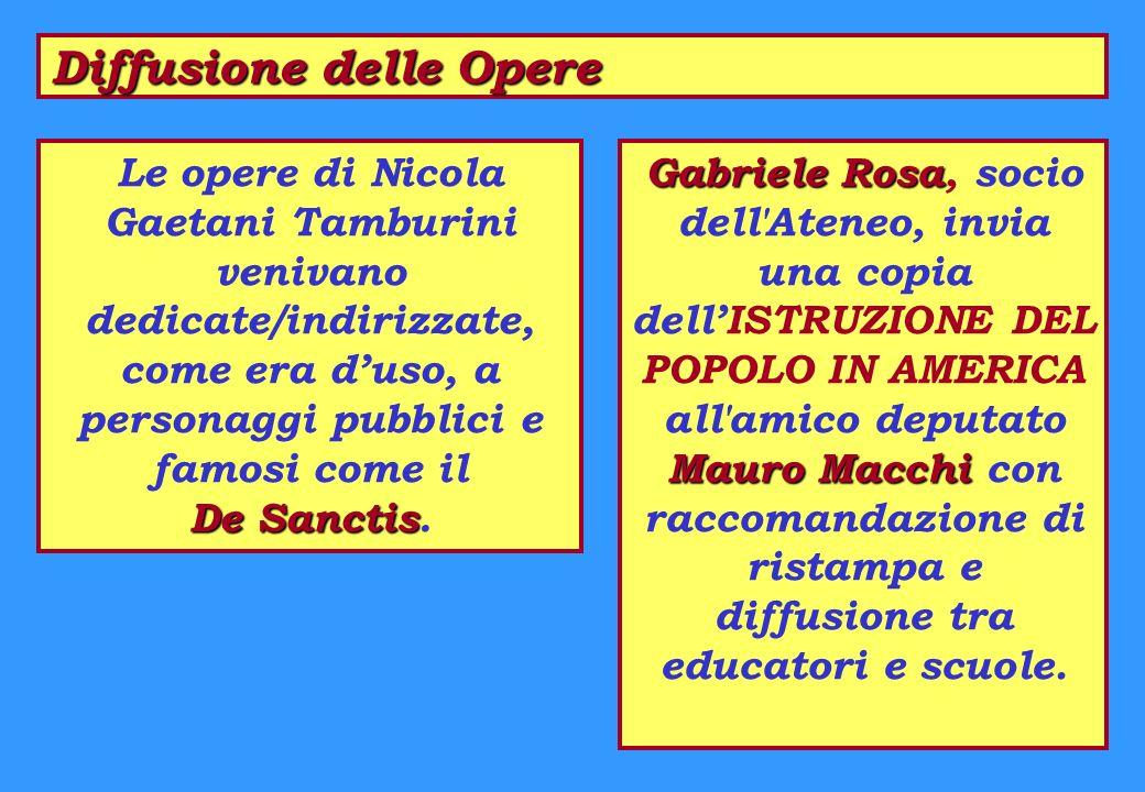 Diffusione delle Opere