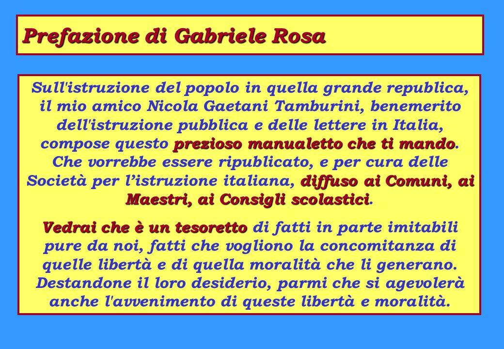 Prefazione di Gabriele Rosa