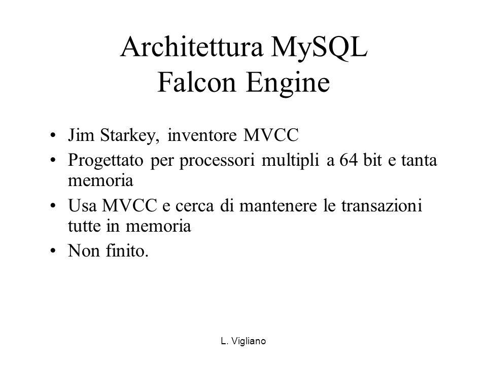Architettura MySQL Falcon Engine