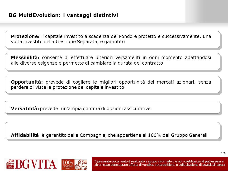 BG MultiEvolution: i vantaggi distintivi
