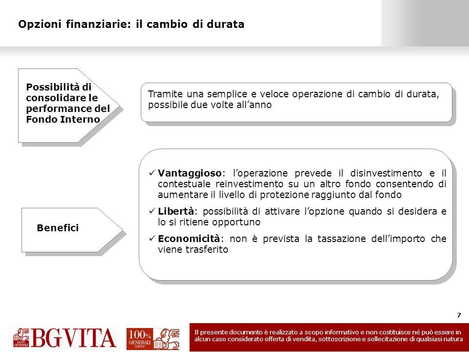 Opzioni finanziarie: il cambio di durata