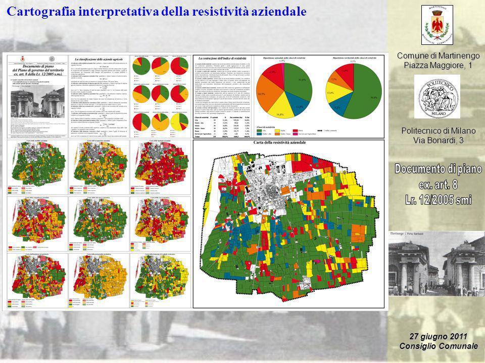 Cartografia interpretativa della resistività aziendale