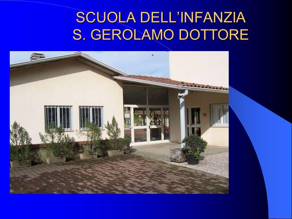 SCUOLA DELL'INFANZIA S. GEROLAMO DOTTORE