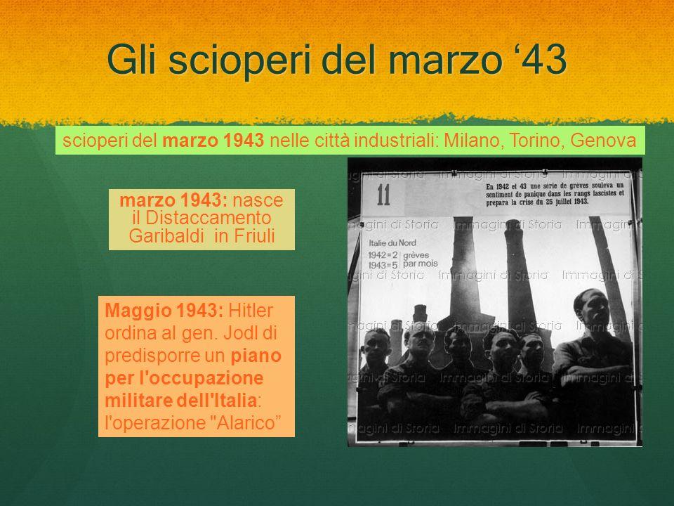 Gli scioperi del marzo '43