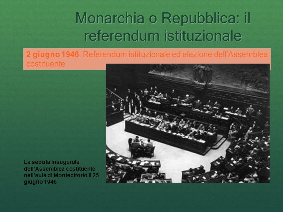 Monarchia o Repubblica: il referendum istituzionale