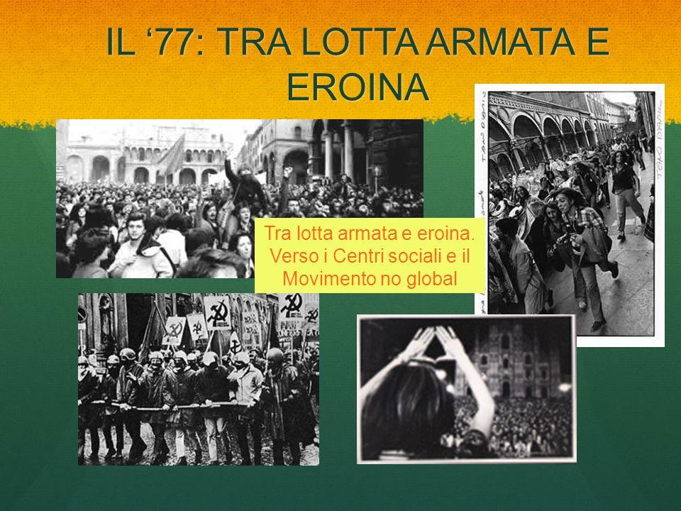 IL '77: TRA LOTTA ARMATA E EROINA