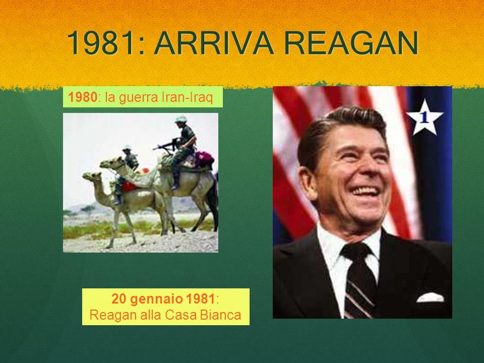 20 gennaio 1981: Reagan alla Casa Bianca