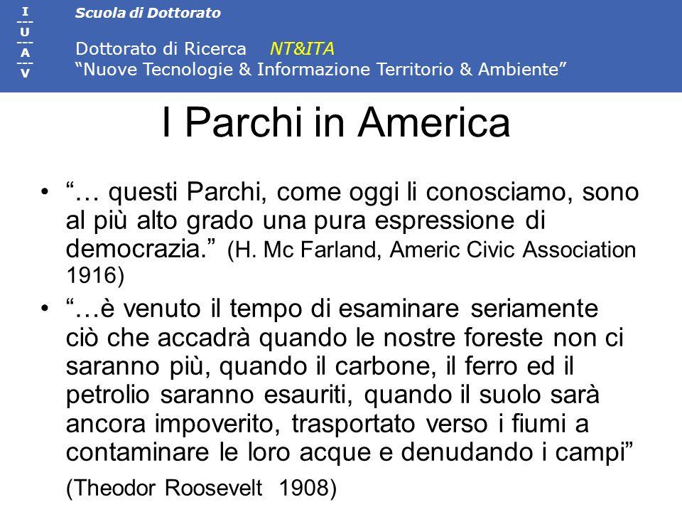 I Parchi in America