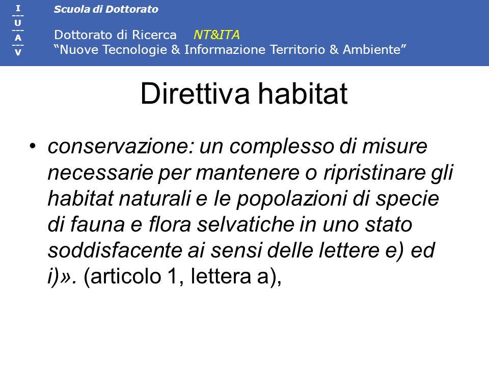 Direttiva habitat