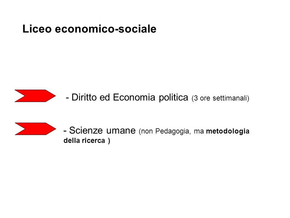 Liceo economico-sociale