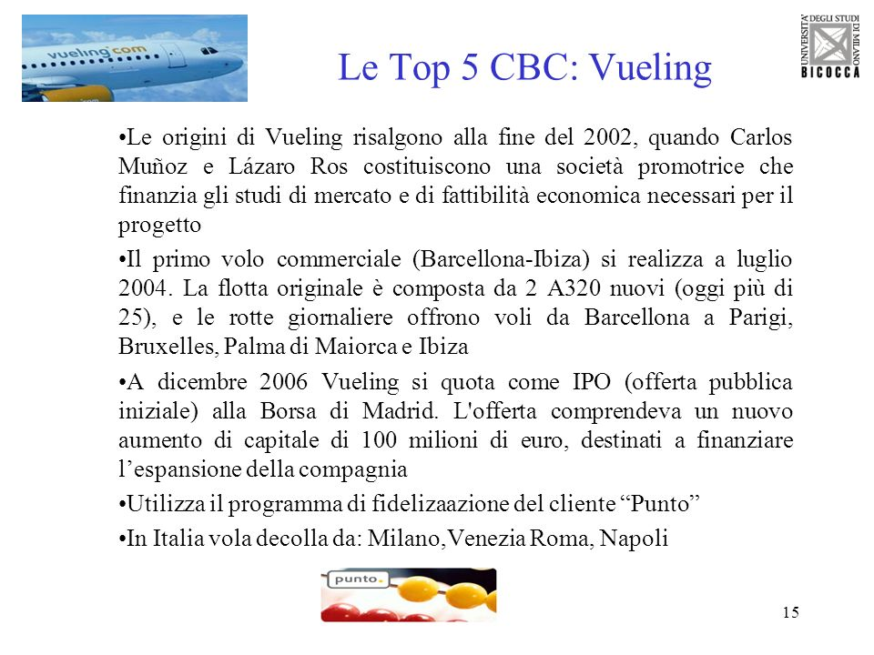 Le Top 5 CBC: Vueling