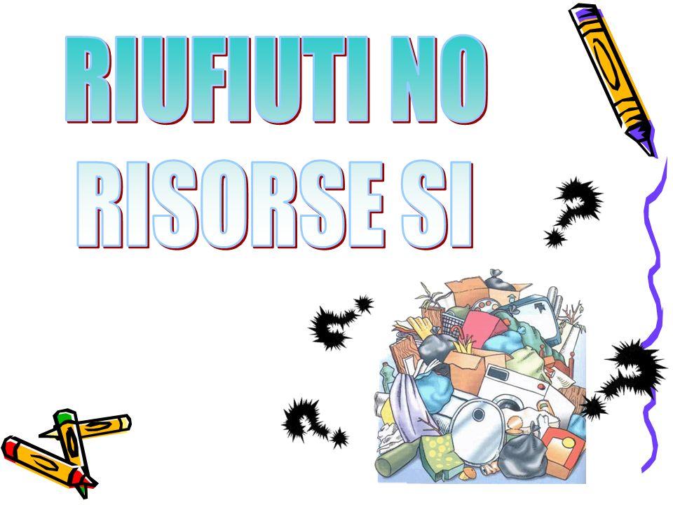 RIUFIUTI NO RISORSE SI